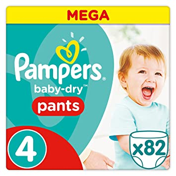 Pampers Baby Dry Pants Couches Culottes Taille 4 8 14 Kg