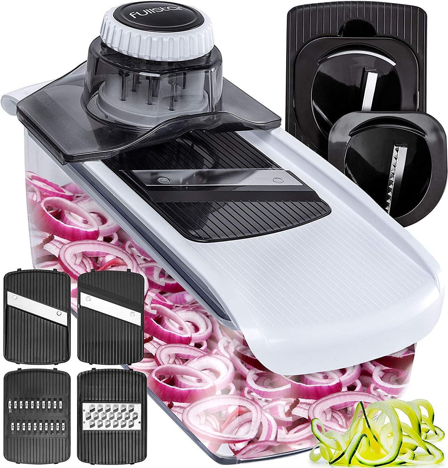 6. Fullstar Mandoline Spiralizer Vegetable Slicer