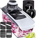 Fullstar Mandoline Slicer Spiralizer Vegetable Slicer - Food Slicer 6-in-1 Vegetable Spiralizer - Potato Slicer Zoodle…