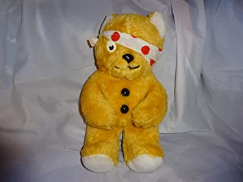 Vintage Pudsey bear : Amazon co uk: Toys & Games