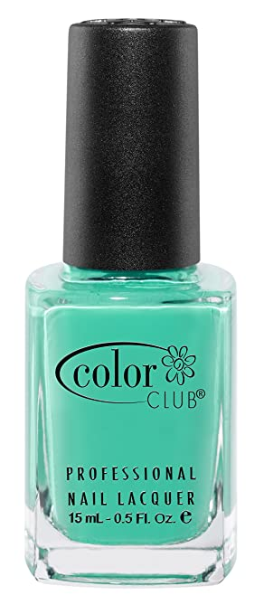 Amazon.com : Color Club Poptastic Neons Nail Polish, Age of Aquarius ...