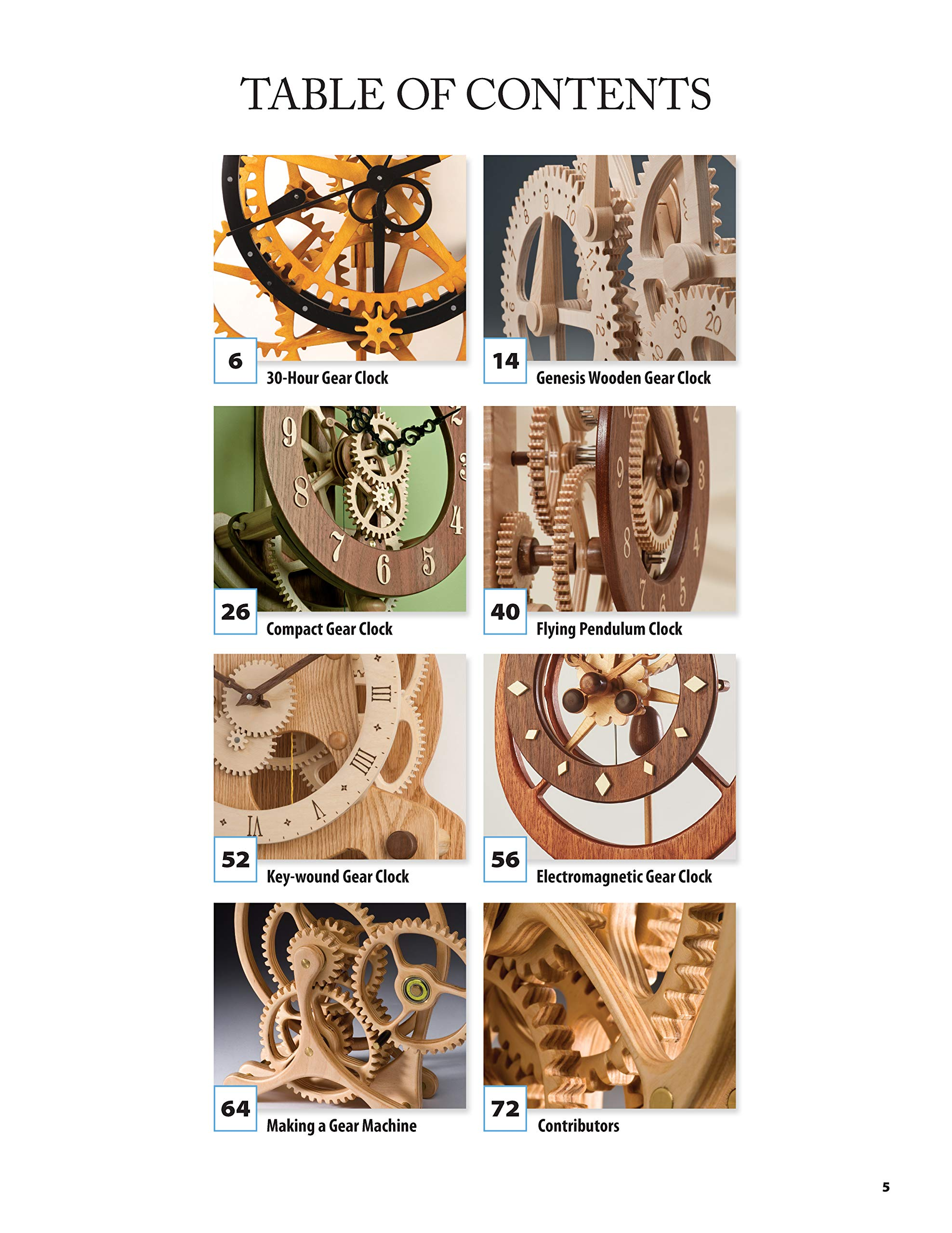 Making wooden gear clocks review