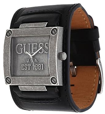 Bracelet en cuir pour montre guess homme