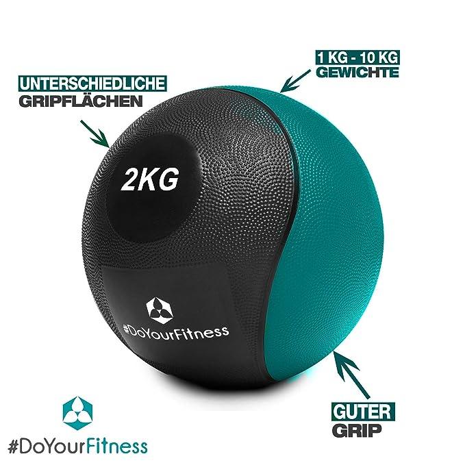 DoYourFitness Balón Medicinal »Medical« / 1-10 kg/Balón de ...
