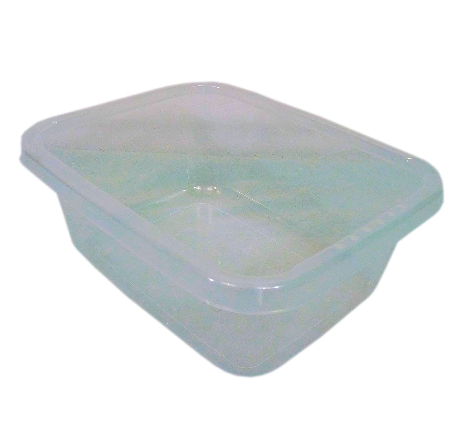 14 Litre Rectangular Clear Plastic Washing Up Bowl Basin 31112