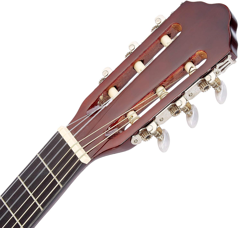 Band 1//2 Gitarre Zubehör Tasche ö Kindergitarre classic natur J3 im Set