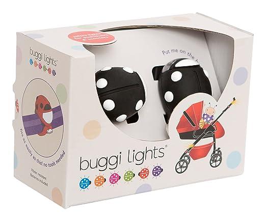 7 opinioni per Buggi Lights BUGGIBWS Luce, Nero/Pois Bianchi
