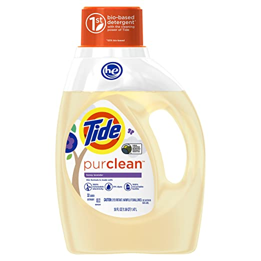 Tide PurClean Honey and Levender for sensitive skin and rosacea