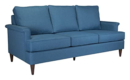 Amazon.com: Zuo 101210 Sofa, Blue: Kitchen & Dining
