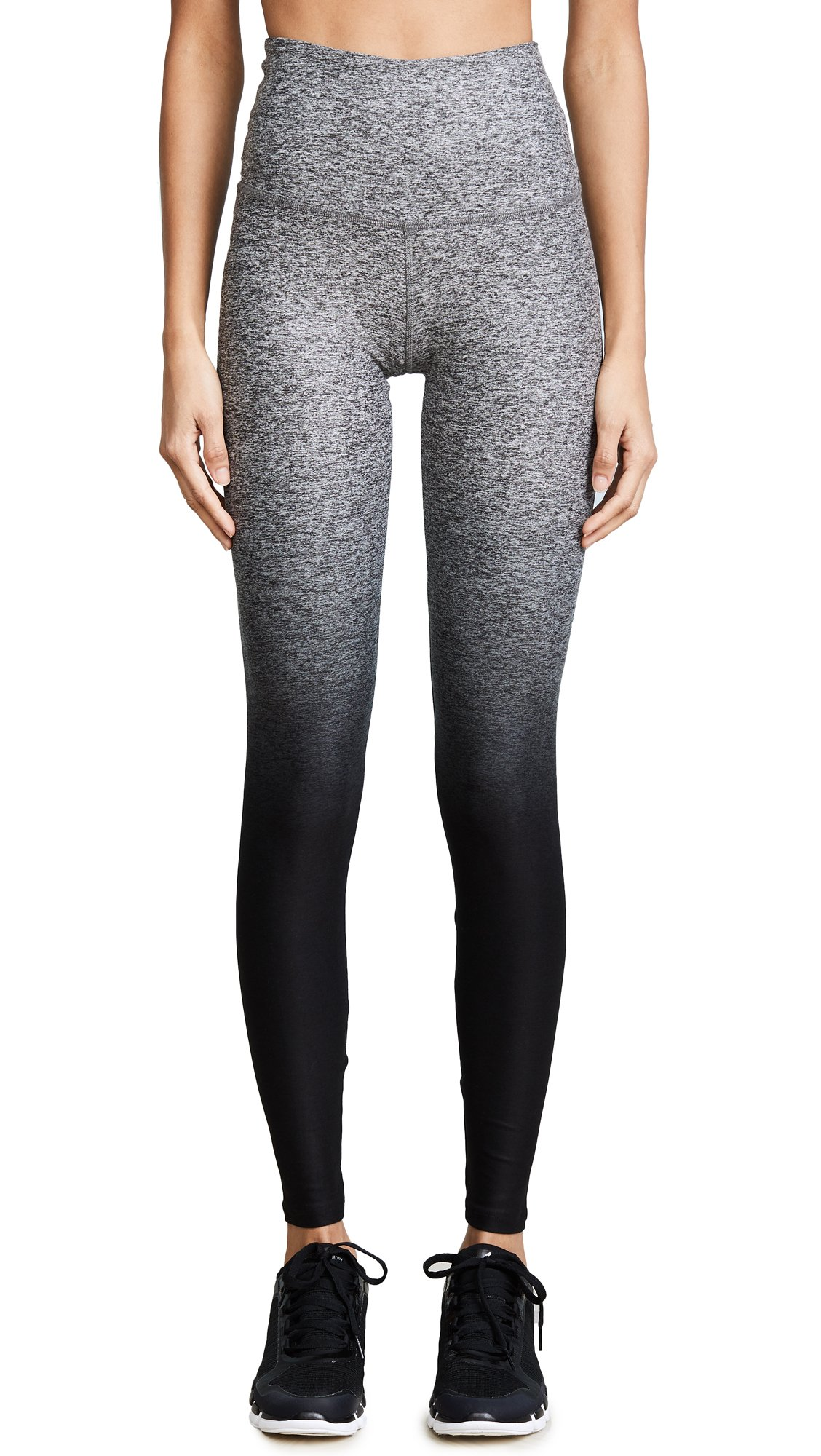Beyond Yoga Women's Ombre Leggings, Black Ombre, X-Small