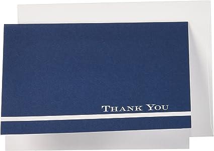 Amazon.com: Gran papeles. Medianoche Azul Tarjetas de ...