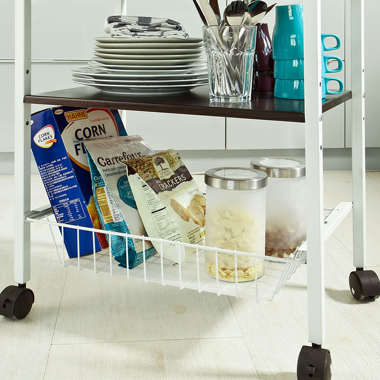 SoBuy® Forno a microonde Mensole, Carrello da cucina,Mensola ...