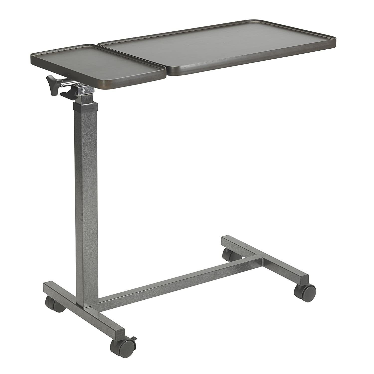 Diy overbed table - Drive Medical Multi Purpose Tilt Top Split Overbed Table