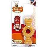 Nylabone Dura Chew Textured Ring Bone, Chicken Flavor