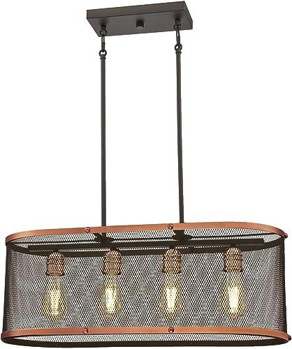 Westinghouse Lighting 6332800 Emmett Four-Light Indoor Chandelier