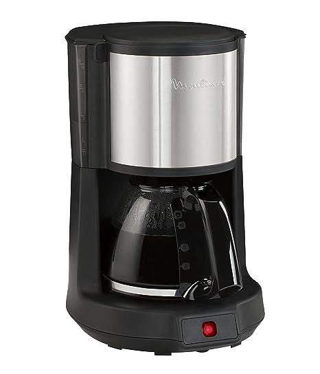 Moulinex Subito 4 Cafetera de filtro Inox, capacidad para 12 tazas, dispositivo antigoteo de