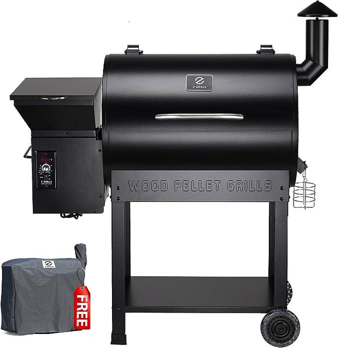 Z Grills ZPG-7002B 2020 Upgrade Wood Pellet Grill & Smoker - Runner Up