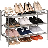 Seville Classics 3-Niveles para Zapatos de Hierro Multiusos