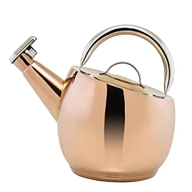 Old Dutch DuraCopper Ganymeade Tea Kettle, 2.75 Qt. /2.6 L.