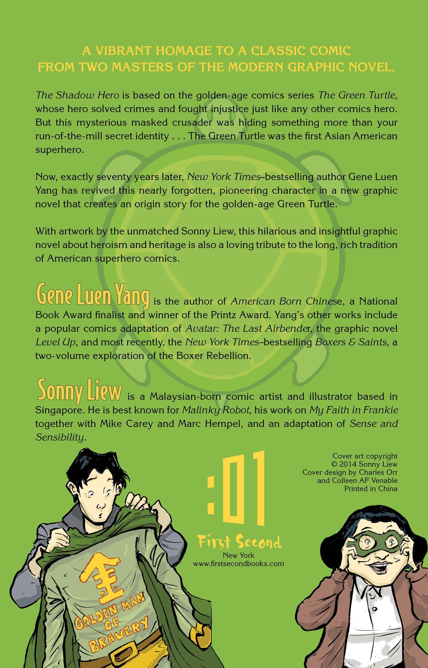 Amazon.com: The Shadow Hero (9781596436978): Gene Luen Yang, Sonny Liew:  Books