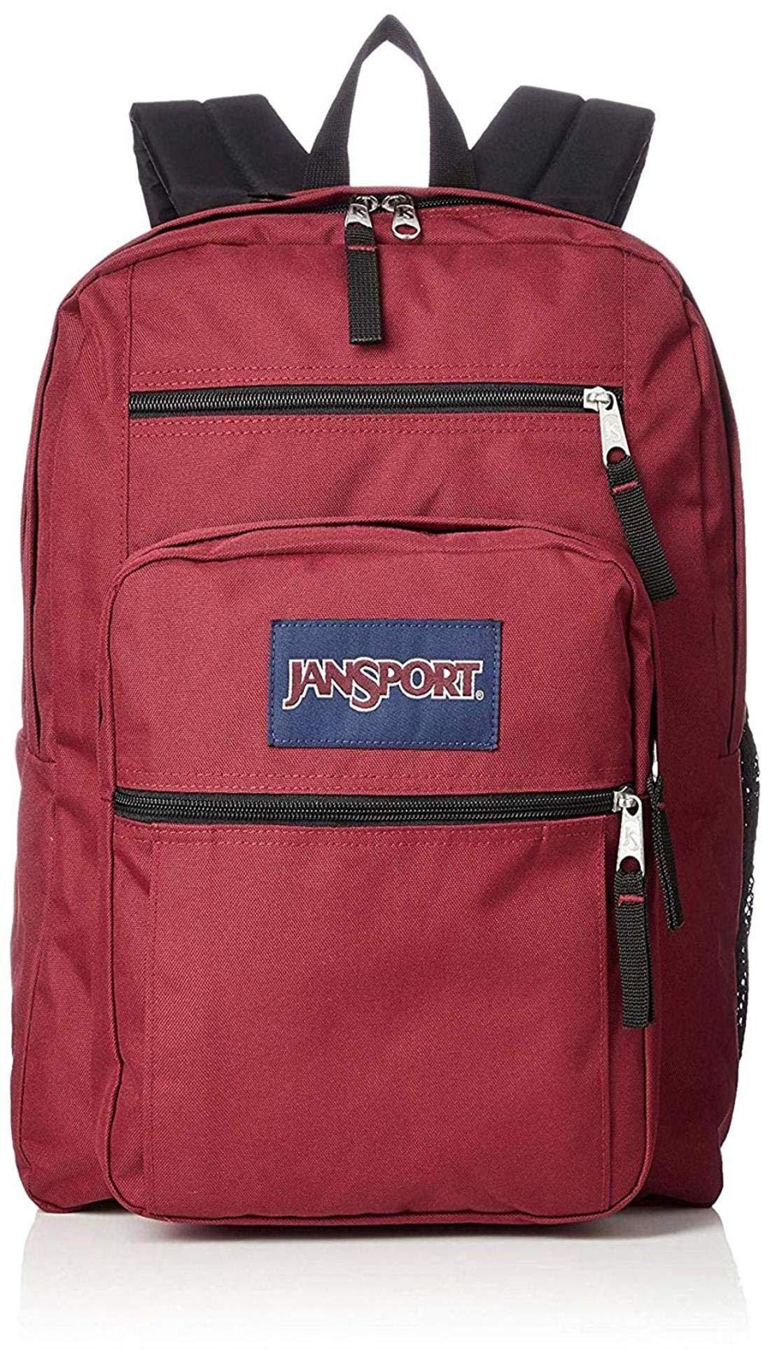 JanSport TDN7 Big Student Backpack ((1) Viking-Red)