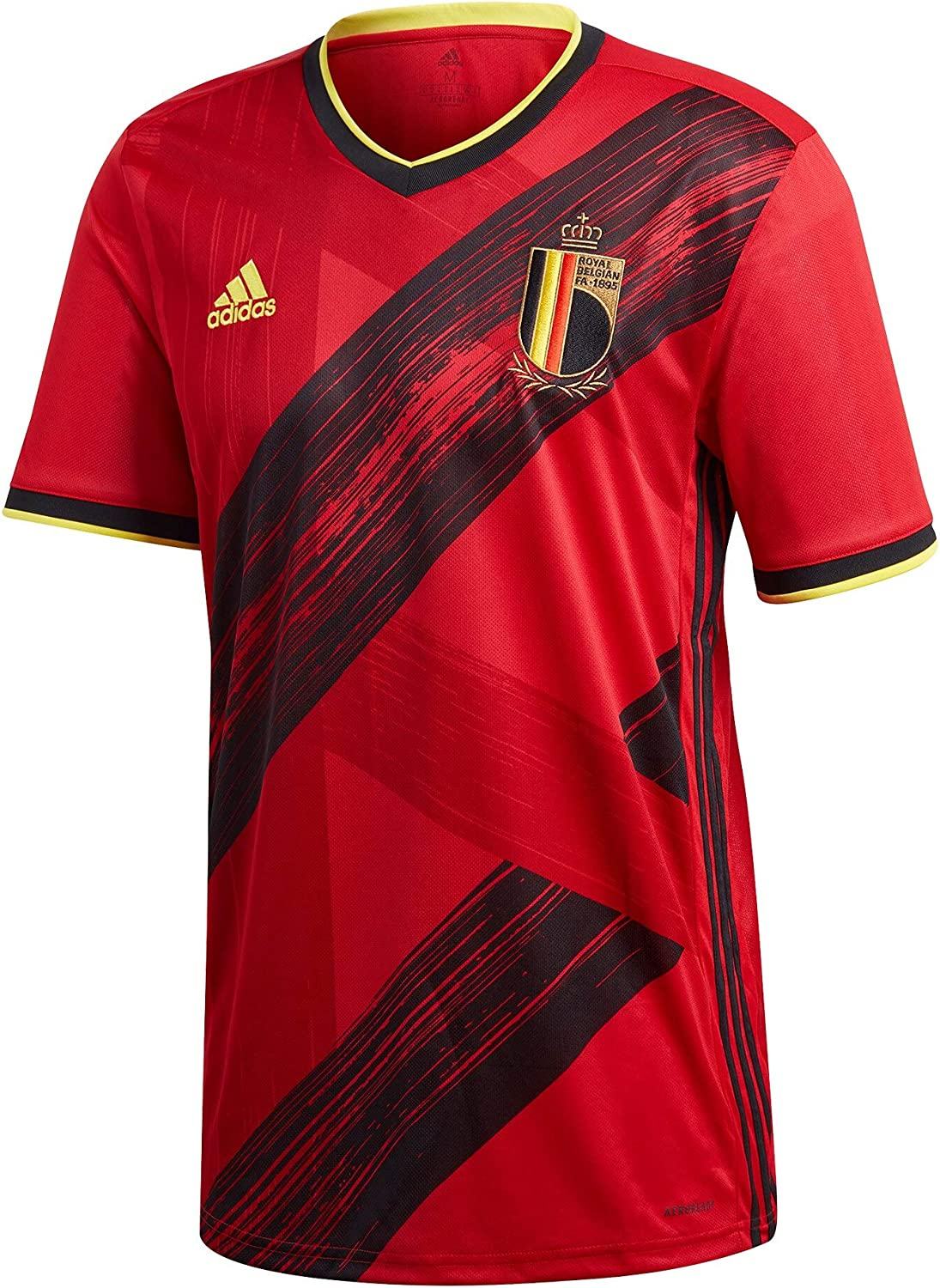Belgium Euro 2020 Home Jersey by Adidas (Large) Red