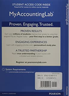 Amazon mylab accounting with pearson etext access card new mylab accounting with pearson etext access card for cost accounting fandeluxe Choice Image