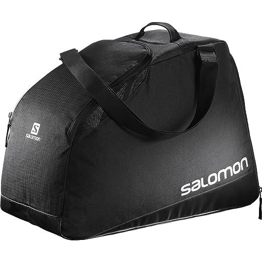2 opinioni per Salomon, Borsa da sci (40 litri), Grande, EXTEND MAX GEARBAG, Nero/Grigio,