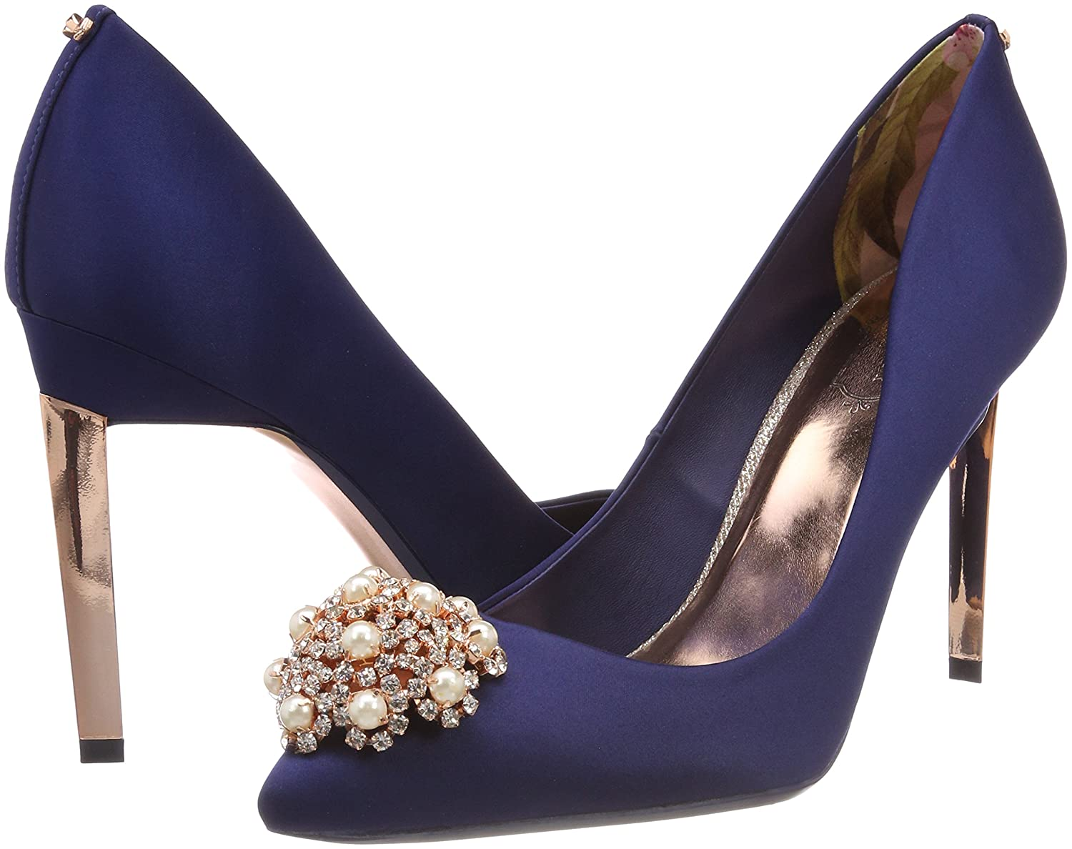 Ted Baker Damen Peetch Blau 2 Pumps Blau Peetch (Navy #0000ff) 36c7d1