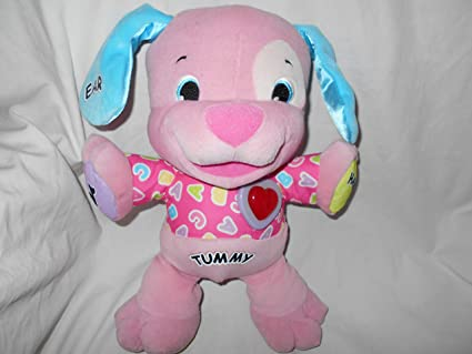 Amazoncom Fisher Price Laugh Learn Love To Play Puppy Pink