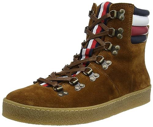 Tommy Hilfiger Crepe Outsole Hiking Hybrid Boot, Zapatillas para Hombre: Amazon.es: Zapatos y complementos