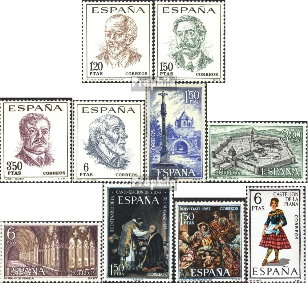Prophila Collection España 1724-1727,1728-1730, 1731,1732,1733 ...