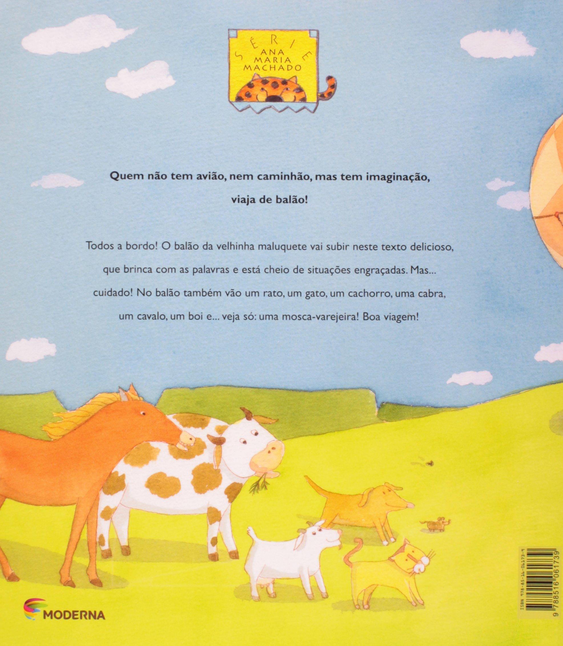 A Velhinha Maluquete (Em Portuguese do Brasil): Ana Maria Machado: 9788516061739: Amazon.com: Books