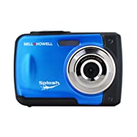 """Bell + Howell Waterproof Digital Camera with 8"""" LCD, Black (WP10-BL)"""