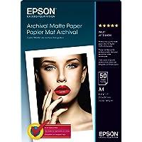 Epson C13S041342 A4 Archival Matte Paper - 50 Sheets (192gsm)