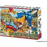 LaQ Dinosaur World Dino Kingdom - 14 Models, 980 Pieces - Creative Construction Toy