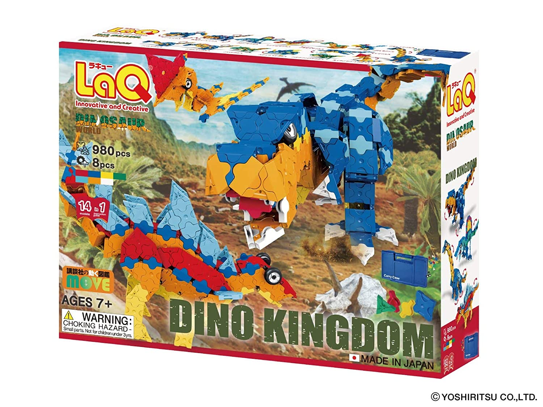 LaQ Dinosaur World DINO KINGDOM (Japan import)