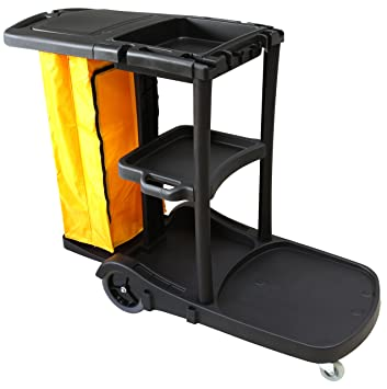 Carro de limpieza multifunción STYLE Clim Profesional®. Carro multiusos para su uso en hoteles, hostales, colectividades, etc. Comodidad en las tareas ...