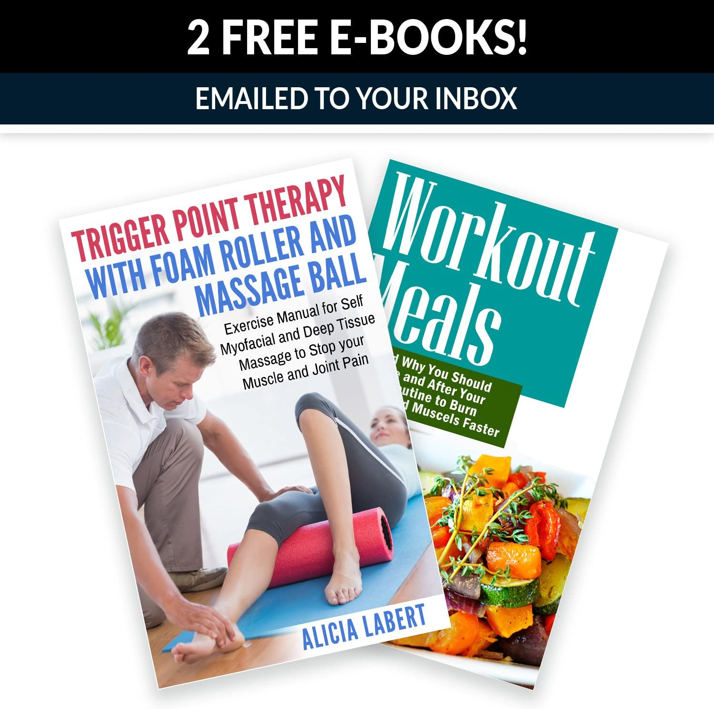 borsa per il trasporto e e-book manuale Lacrosse sfera di massaggio Spiky Peanut Ball Foam Roller set/-/33/cm in schiuma ad alta densit/à per massaggio