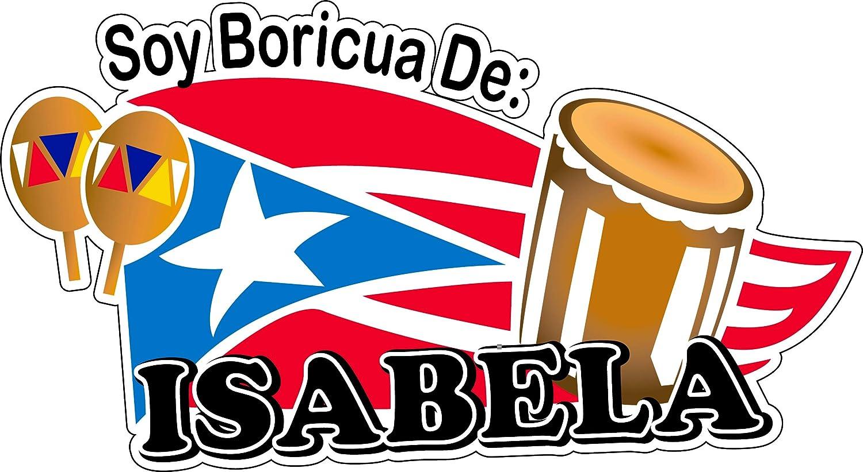 Amazon com : Puerto Rico Soy Boricua De Isabela Sticker