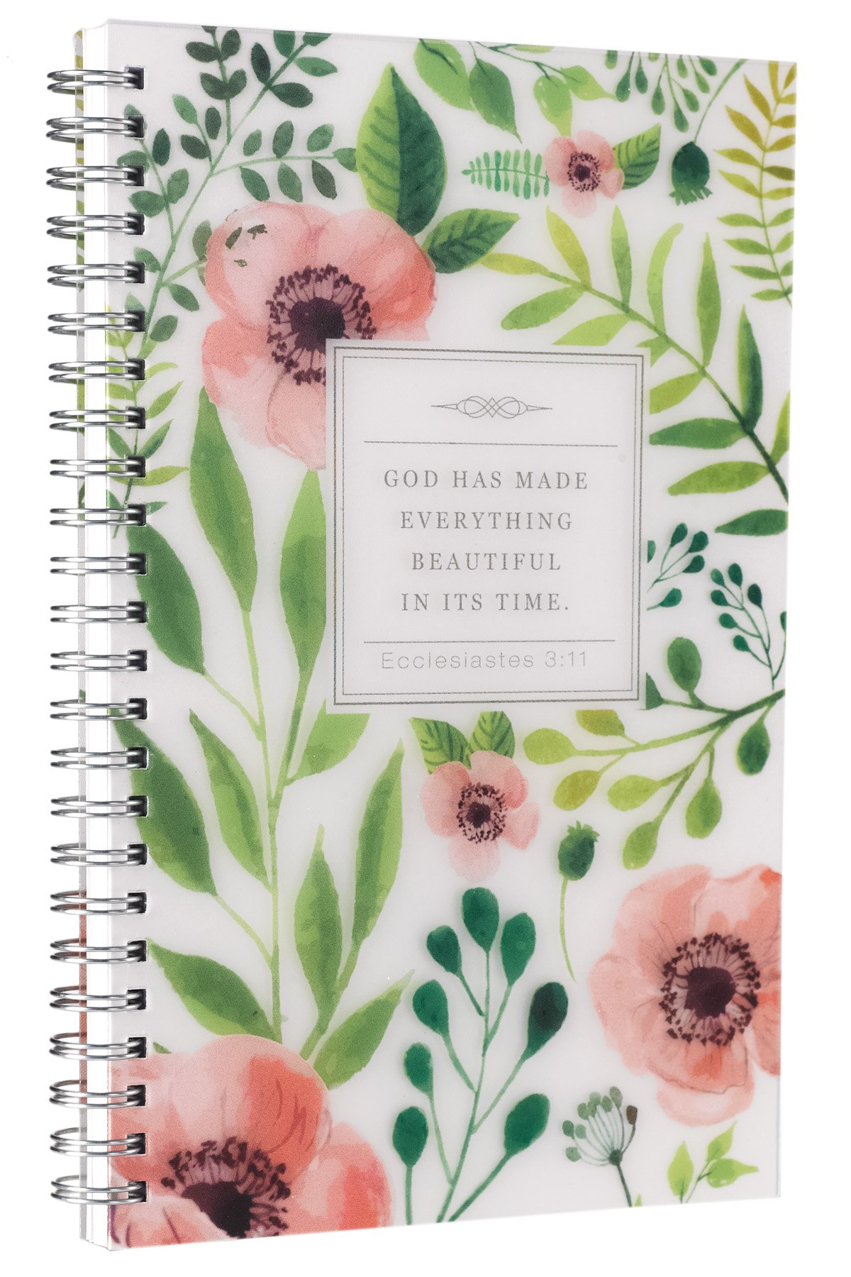 Beautiful Printed Wirebound Journal Notebook