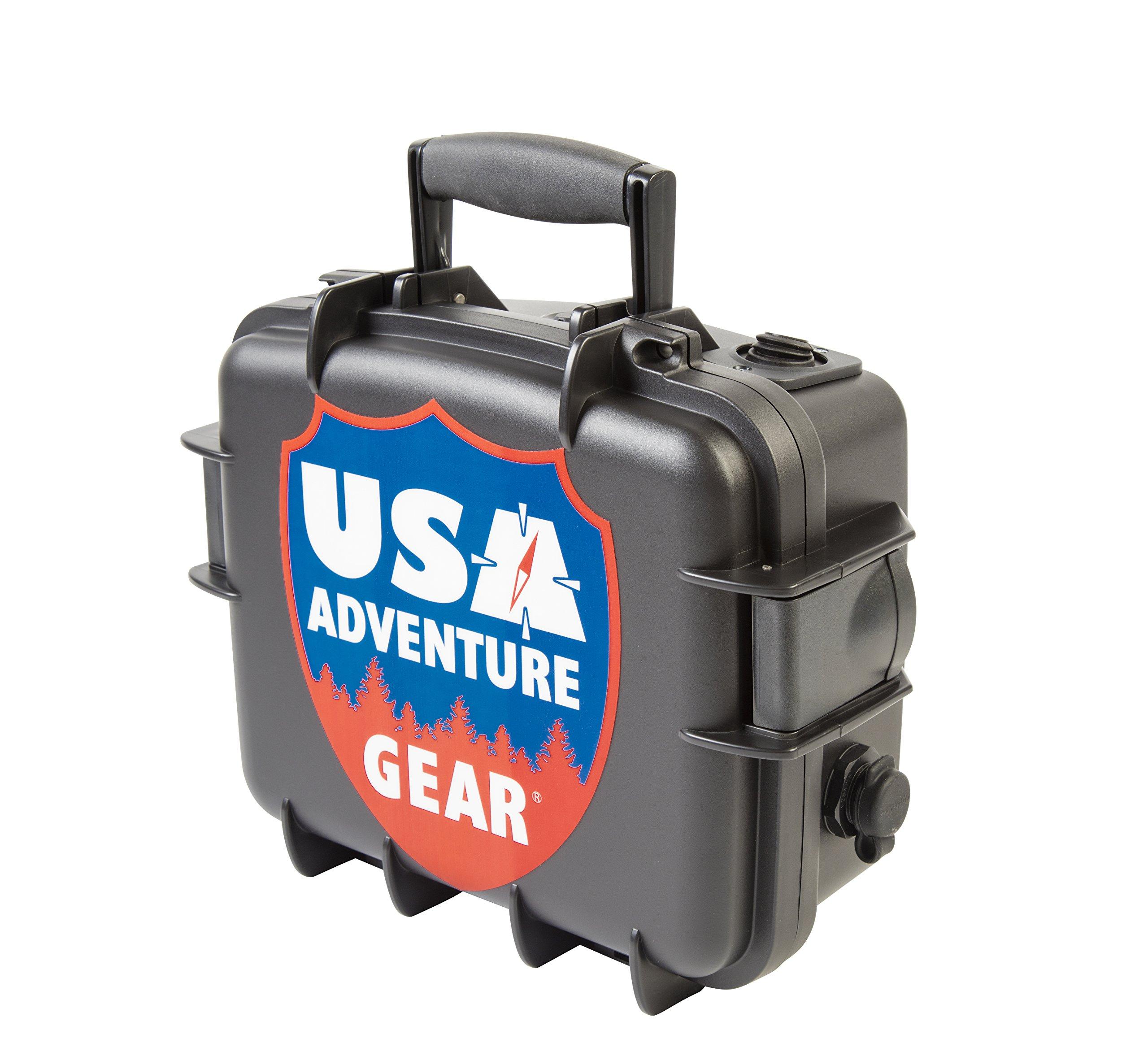 Glacier XE 12v Portable Water Pump featuring USA's 5300 ProGear Professional Grade Pump by USA Adventure Gear (Image #3)