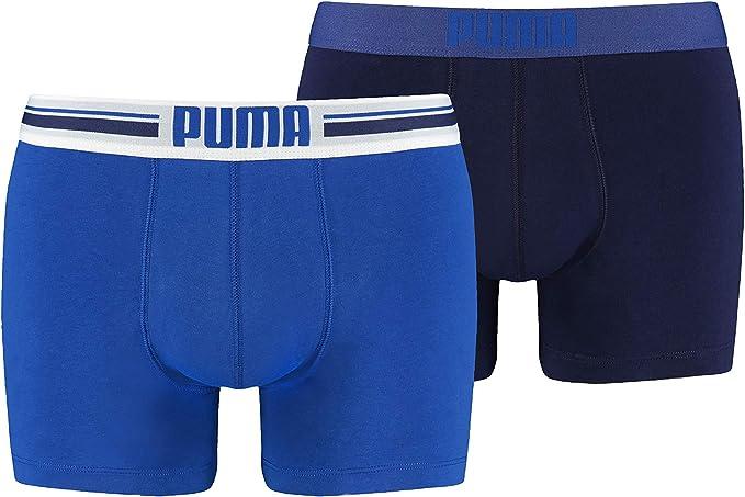 Puma Placed Logo - Pack de 2 bóxers para hombre: Puma Bodywear ...