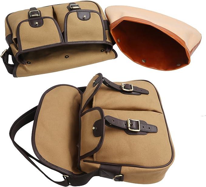 Tourbon Angeltasche Carryall Fly Fishing Tackle Fall Crossbody Schulter Tasche