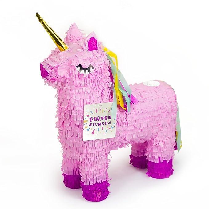 Trendario - Piñata de unicornio - 57 x 37 cm grande en color ...