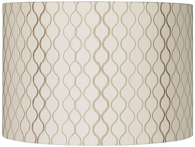Amazon.com: Bordado reloj de arena lámpara de techo 16 x 16 ...