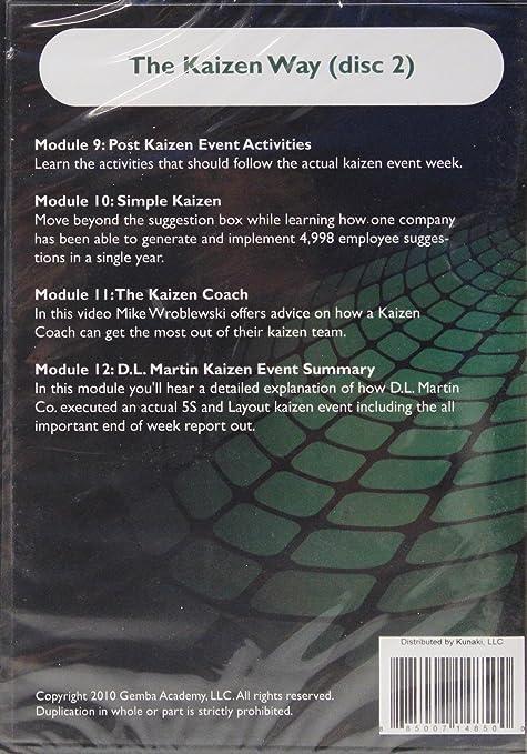 Amazon.com: The Kaizen Way (Disc 2) Dvd: Movies & TV