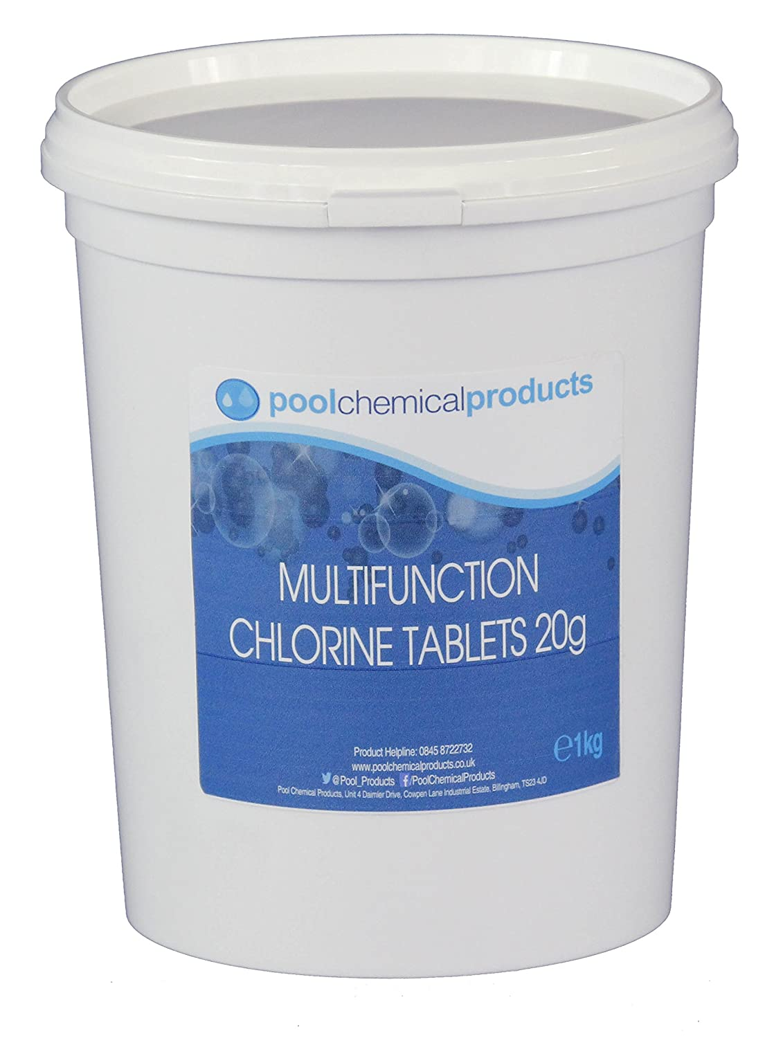 20g Multifunction Chlorine Tablets 1kg Pool Chemical Products