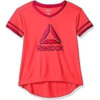 Reebok Athletic - Playera para niña
