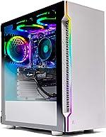 Skytech Archangel Gaming Computer PC Desktop – RYZEN 5 2600X 6-Core